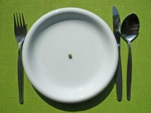 Null-Diät und Crash-Diät mit ihren Risiken
